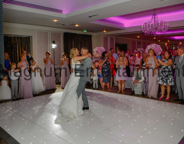 Starlit dance floor Darlington