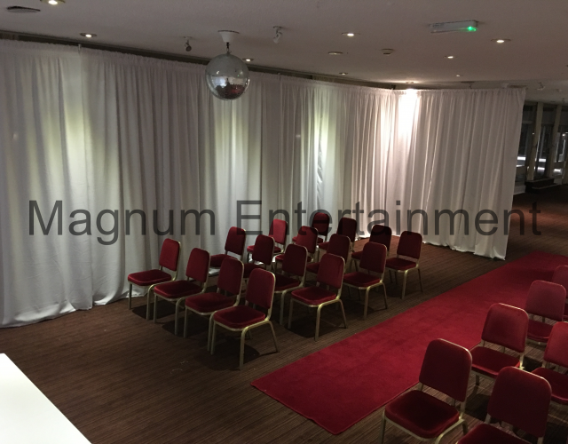 Wedding Drapes in Darlington, Middlesbrough and Stockton