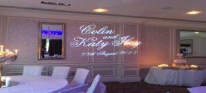 Custom Wedding Projections