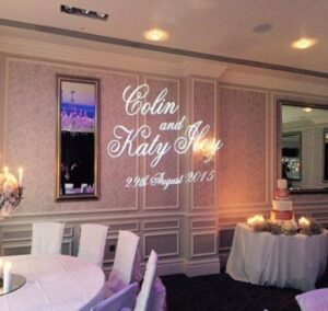 North East Custom Wedding Projection