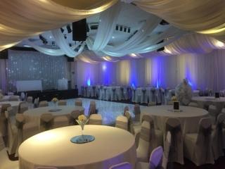 North East Wedding Venue Draping