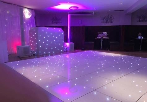 Starlit Twinkling LED Dance Floor Wynyard Golf Club
