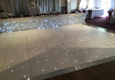 Twinkling LED Dance Floor Hire Darlington
