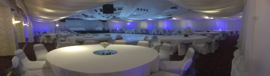 Venue Draping Middlesbrough