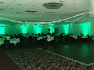 Venue Draping Redworth Hall Durham