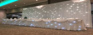 Wedding Curtain & Table Skirts North East
