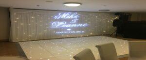 Starlit LED Twinkling DanceWedding Curtain Wynyard Golf Club Billingham