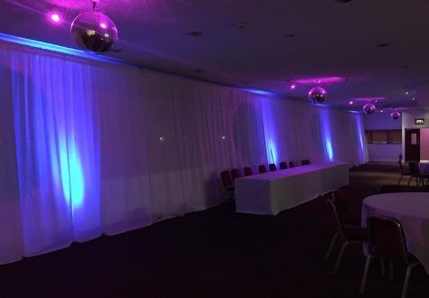Wedding Venue Drapes Middlesbrough