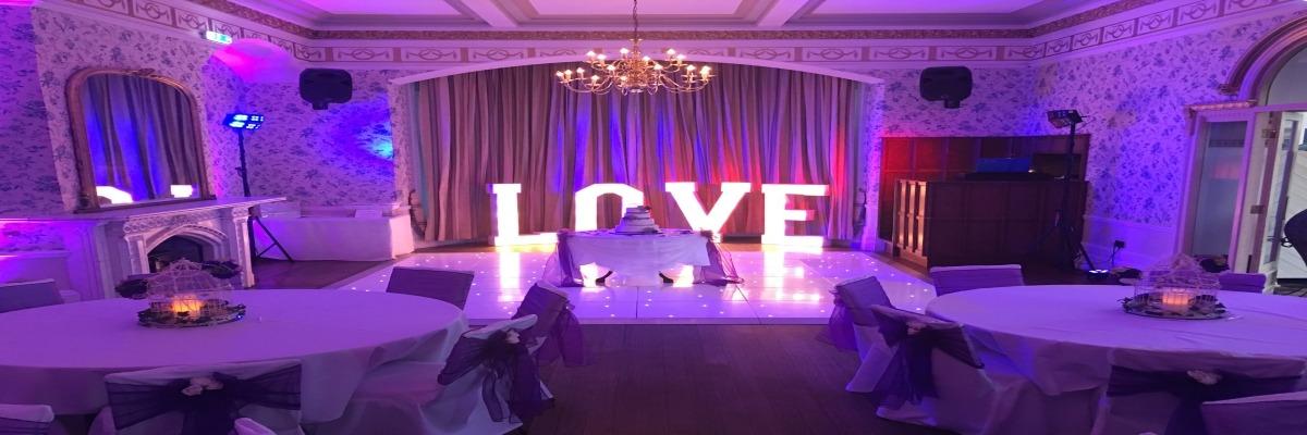 White Starlit Twinkly Dance Floor Rushpool Hall Saltburn