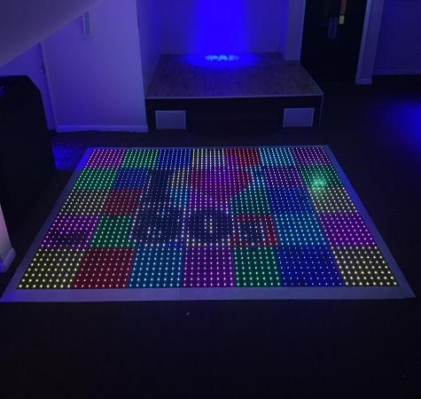 Interactive Colour Commander Dance Floor