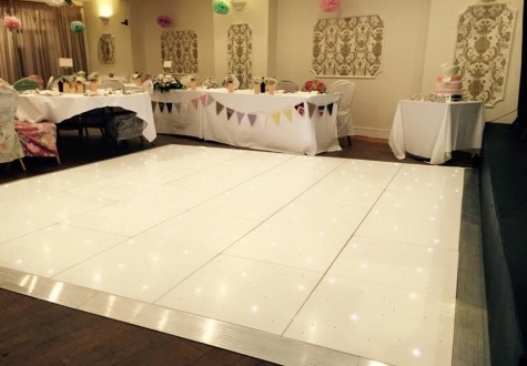 Starlit LED Twinkling Dance Floor Saltburn