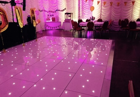 Starlit Wedding Dance Floor Hire Darlington