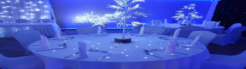 Starlit Twinkling Banquet Tables Darlington