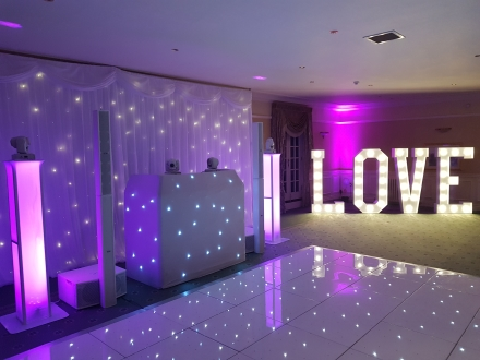 Dance Floor & Wedding DJ Judges Hotel Yarm