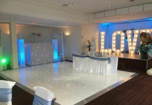 Starlit Twinkling LED Dance Floor Middlesbrough