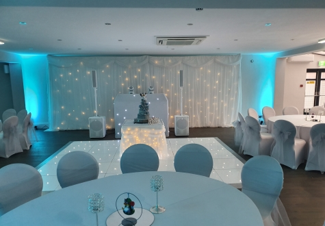 White Premium Wedding Disco North East